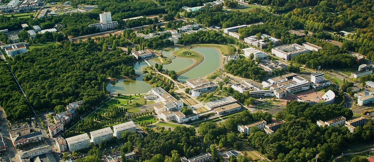 Orléans Grand Campus vert